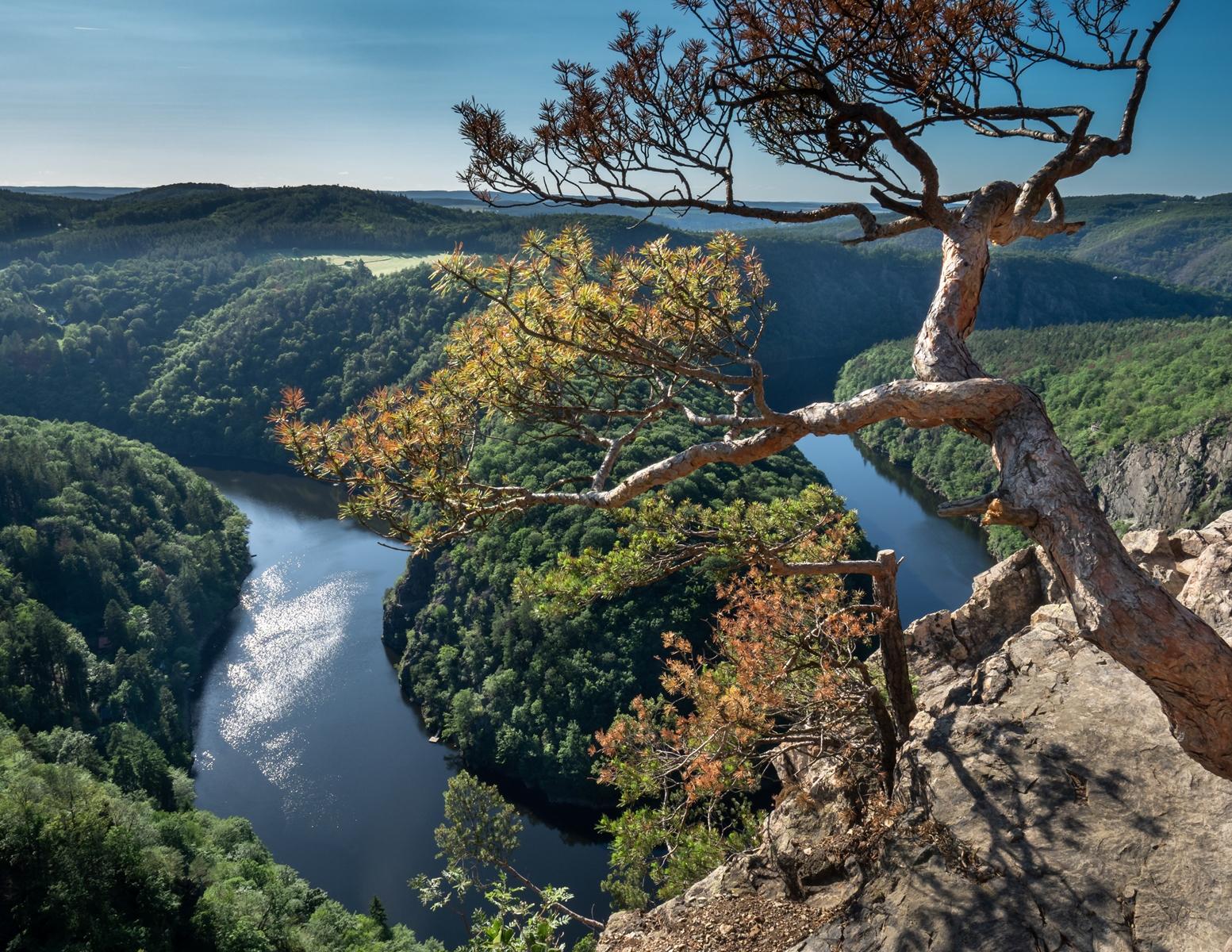 Vltava river view, Czech Republic