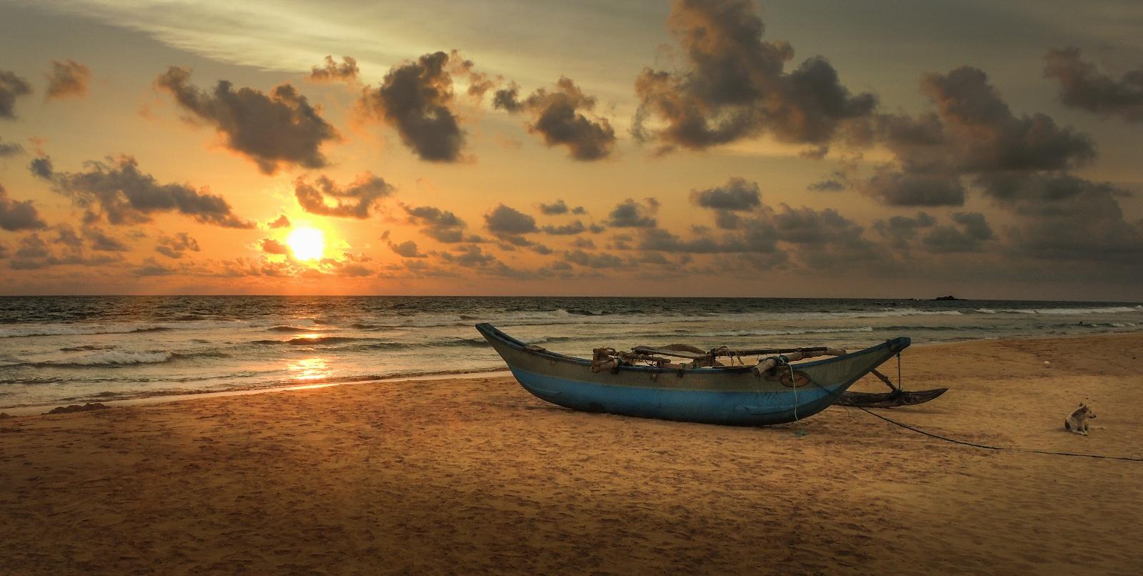 Bentota beach, Srí Lanka