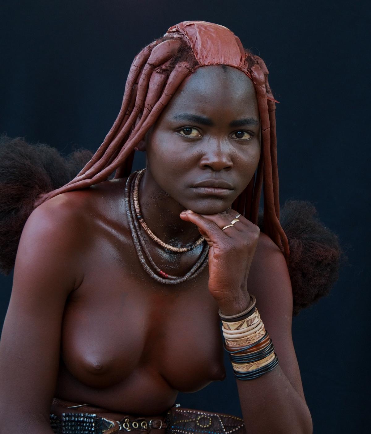 Himba girl, Namibia