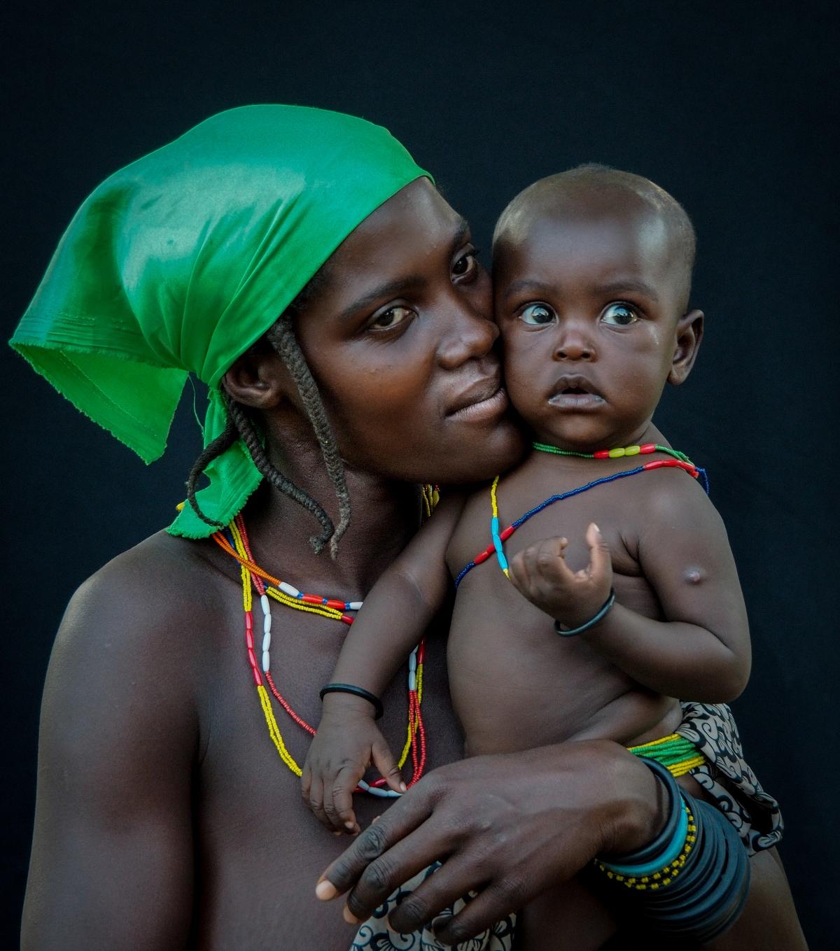 People of Opuwo, Namibia