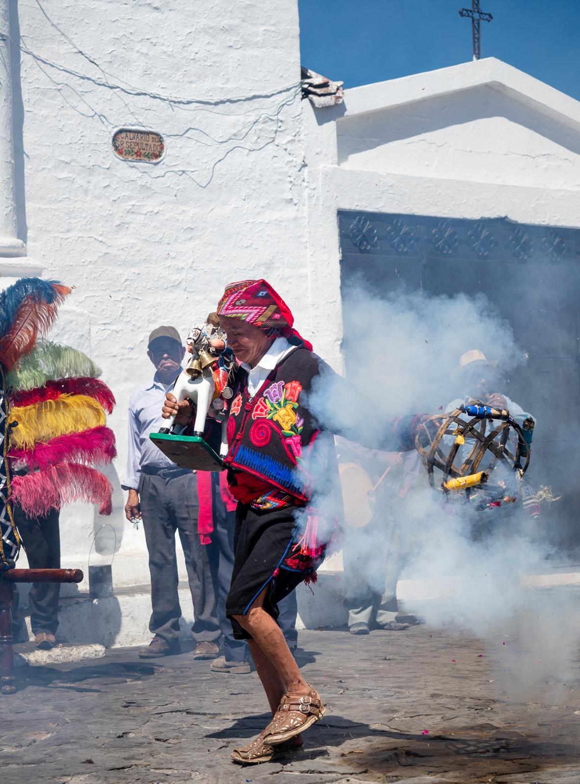 Ceremony in Chichicastenango, Guatemala